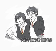 Padfoot and Prongs by Kirsten  Stackhouse
