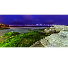 Moss at Maroubra Photographic Print