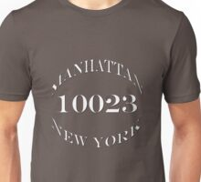 Manhattan New York, 10023 Unisex T-Shirt