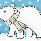 Polar Bear 1 by Zoe Lathey