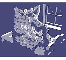 Duvet Monster Photographic Print