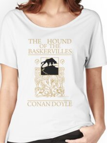 Hound of the Baskervilles Book Cover Women's Relaxed Fit T-Shirt