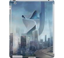 Cyberpunk Cityscape iPad Case/Skin