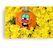 Fun Fall Pumpkins Canvas Print