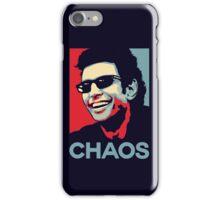 Ian Malcolm 'Chaos' T-Shirt iPhone Case/Skin