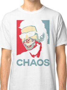 Ian Malcolm 'Chaos' T-Shirt Classic T-Shirt