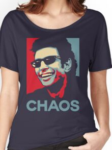 Ian Malcolm 'Chaos' T-Shirt Women's Relaxed Fit T-Shirt
