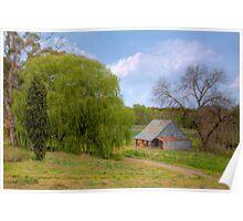 Old Barn - Beerenberg, Hahndorf, The Adelaide Hills, SA Poster