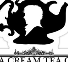 "BBC Sherlock ""Cream Tea"" Bakery & Tea Shop  Sticker"