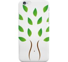 Weight loss program with organic supplements iPhone Case/Skin