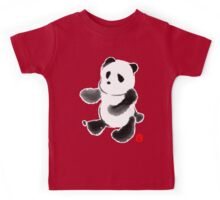Ink Wash Panda Kids Tee