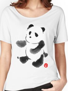 Ink Wash Panda Women's Relaxed Fit T-Shirt