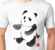 Ink Wash Panda Unisex T-Shirt
