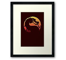 REPTILE Mortal Kombat X tee martial arts fighting game Framed Print
