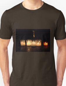 Candles in church T-Shirt