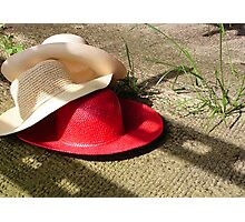 The Red Hat - Series 02 Photographic Print