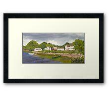 Ash Cove Summer Framed Print