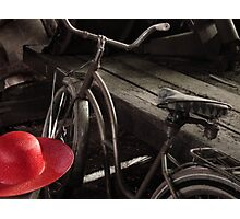 The Red Hat - Series 04 Photographic Print