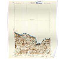 USGS Topo Map Washington The Dalles 244251 1934 125000 Poster