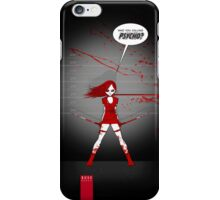WHO YOU CALLING PSYCHO? iPhone Case/Skin