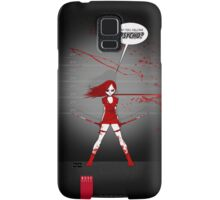 WHO YOU CALLING PSYCHO? Samsung Galaxy Case/Skin