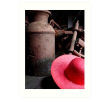 The Red Hat - Series 05 Art Print