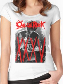 ONE OK ROCK! TAKA!! 35XXXV Women's Fitted Scoop T-Shirt