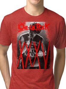 ONE OK ROCK! TAKA!! 35XXXV Tri-blend T-Shirt