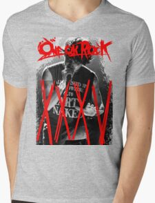 ONE OK ROCK! TAKA!! 35XXXV Mens V-Neck T-Shirt