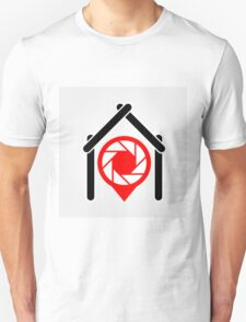 A placement with aperture sign inside a house T-Shirt
