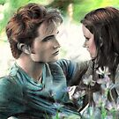 Bella and Edward by missmuffin