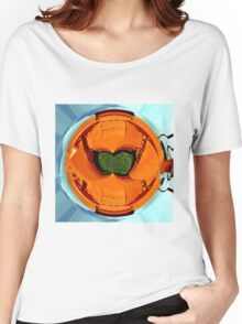 Abstract farm equipment Women's Relaxed Fit T-Shirt