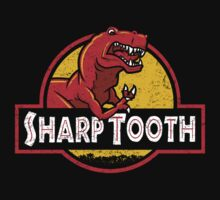 Sharp Tooth T-Shirt (Jurassic Park) by Tabner