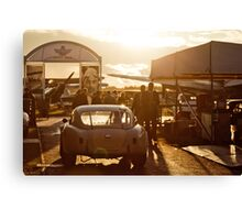 Raceday Cool Down Canvas Print