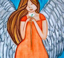 mother's day angel - sunday, may 8, 2011 by Art By Misty
