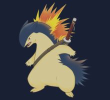 Typhlosion One Piece - Long Sleeve
