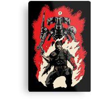 Hellboss Metal Print
