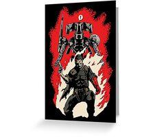 Hellboss Greeting Card