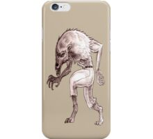 Wolfman iPhone case 1 iPhone Case/Skin