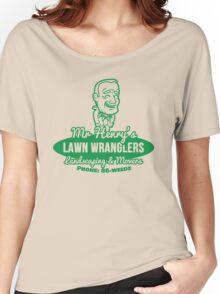 Bottle Rocket Lawn Wranglers  Women's Relaxed Fit T-Shirt