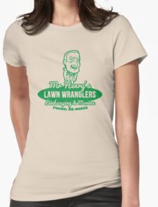 Bottle Rocket Lawn Wranglers  Womens Fitted T-Shirt
