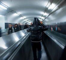 Paris metro by Jean-Marie Grange