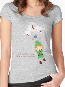 Cucco Revenge Squad Women's Fitted Scoop T-Shirt