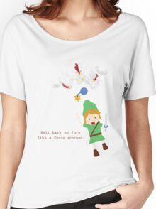 Cucco Revenge Squad Women's Relaxed Fit T-Shirt