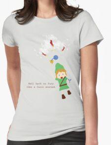 Cucco Revenge Squad Womens Fitted T-Shirt