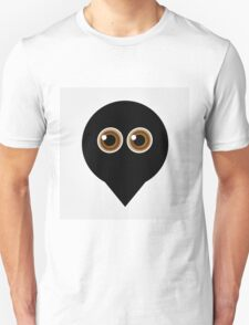 A placement with cute ghost having hazel eyes  T-Shirt