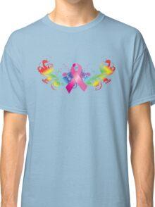 Breast Cancer Awareness Rainbow Classic T-Shirt