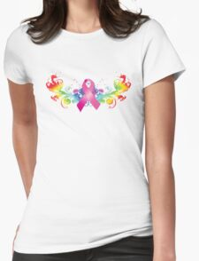 Breast Cancer Awareness Rainbow T-Shirt