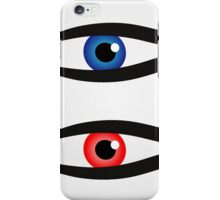 Abstract fish with large eyeball inside  iPhone Case/Skin