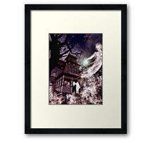 The Haunting of Blackthorne Manor Framed Print